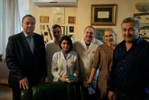 Встреча офтальмологов в клинике Мераба Двали, Тбилиси 2018