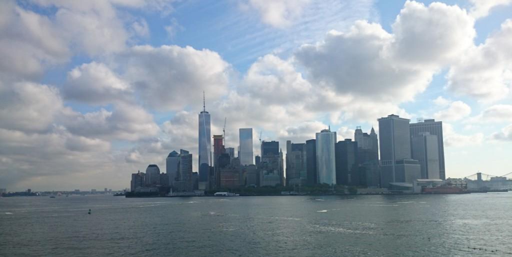 Манхеттен вид  с парома