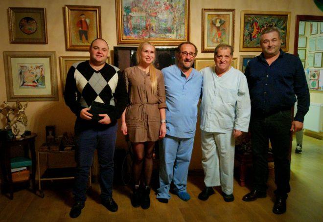 Мераб Двали, Винченцо Сарникола, Расческов Александр, Зиятдинова Олеся и коллеги.
