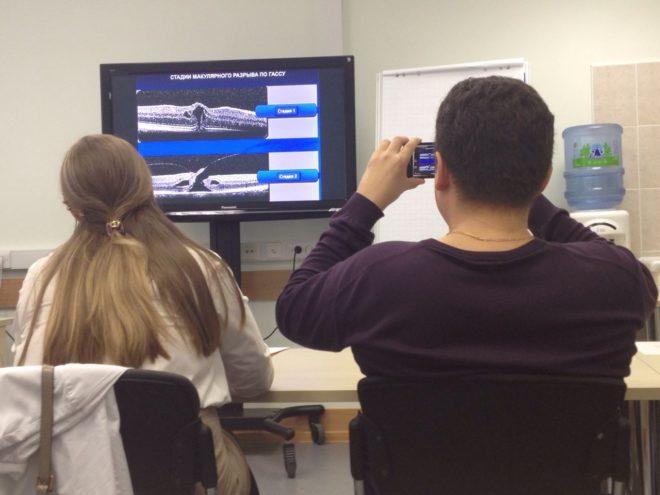 Лекции по витрео-макулярному тракционному синдрому