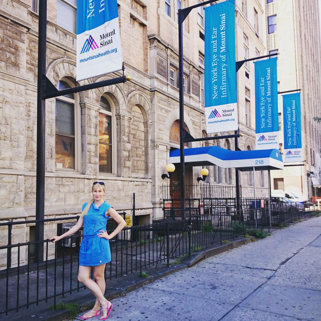 New York Eye and Ear Infirmary of the Mount Sinai