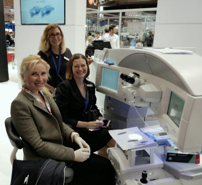 """Ветлаб по технологии коррекции зрения """"SMILE"""" на фемтосекундном лазере Visumax, Zeiss, Германия"""