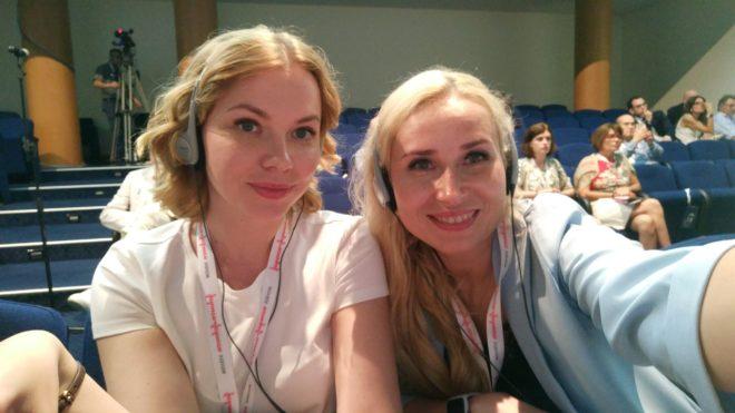 Валентина и Олеся, офтальмологи из России