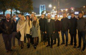 Огни ночной Москвы и казанские авторитеты :-)