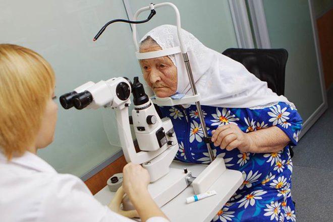 Диагностика катаракты.