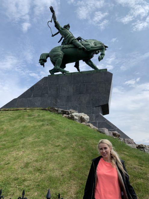 Салават Юлаев. Монумент в Уфе