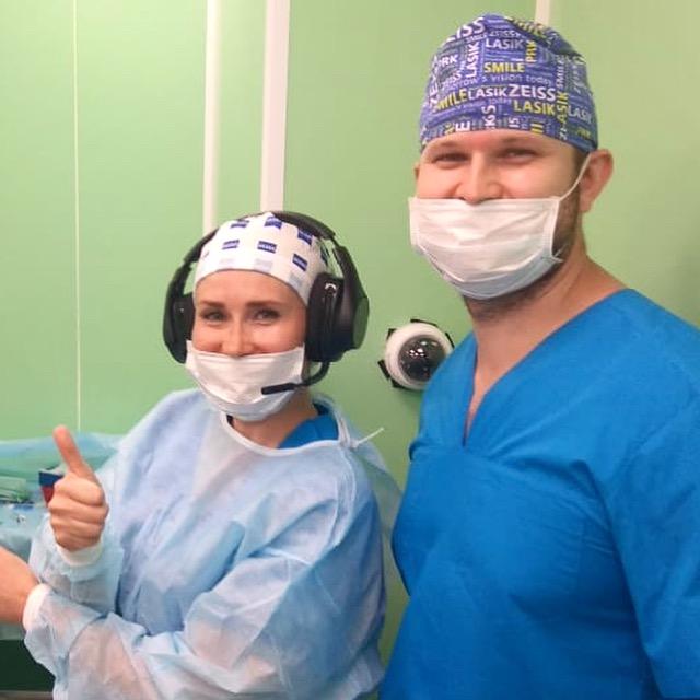 С коллегой, супер хирургом и просто классным человеком Бикбулатовым Рустем Маратовичем, Живая хирургия, Уфа 2019